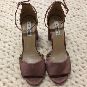 Steve Madden Satin block-heel shoes - Size 8